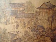 中国古城PPT背景模板
