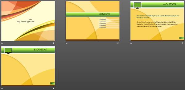 关键词:黄色科技ppt模板下载,黄色ppt模板下载,科技线条ppt模板下载