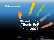微软出品蓝色科技PPT模板下载