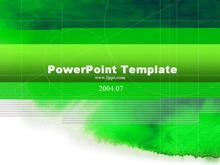 绿色国外经典PPT模板下载
