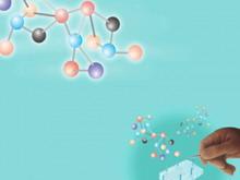 DNA背景医学研究PPT模板