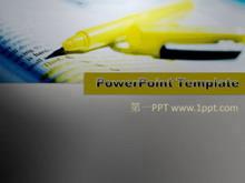 英语学习类教育PPT模板