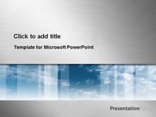 金属拉丝科技感PPT模板下载