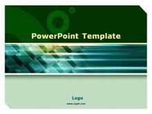 绿色键盘背景PPT模板下载