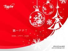 漂亮的圣诞节PPT模板下载