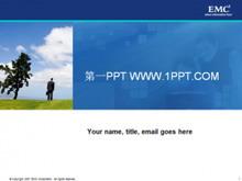国外公司培训PPT模板下载