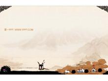 古典中国风PPT背景图片下载