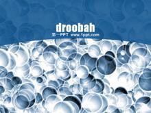 化学气泡PPT模板下载
