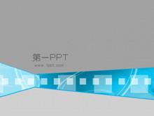 胶片背景科技PPT模板