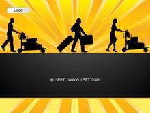 商务旅行旅游PPT模板