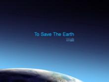 精美的保护地球PPT模板下载