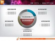 圆环PPT结构图
