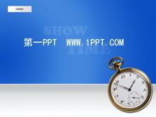 时间观念企业培训PPT模板