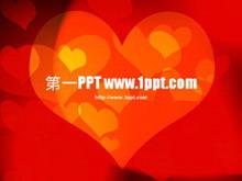 浪漫爱情主题PPT模板下载