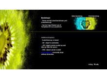 水果星系艺术PPT模板下载
