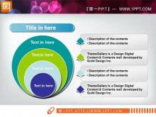 递进包含关系PPT图表素材