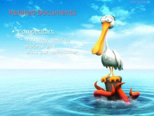 可爱的立体动物幻灯片背景图片下载