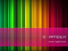 彩色�r尚PPT模板下�d