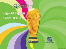 大力神杯背景fifa世界杯PPT模板下载