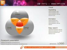 立体交叉关系PPT图表素材下载