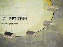 古典建筑背景PPT中国嘻哈tt娱乐平台免费tt娱乐官网平台