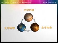星球环绕幻灯片内容呈现素材下载
