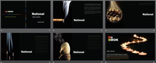 禁止吸烟PPT下载