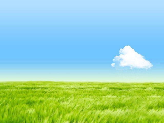 清新的自然风光幻灯片背景图片