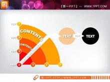 扇形图幻灯片素材tt娱乐官网平台
