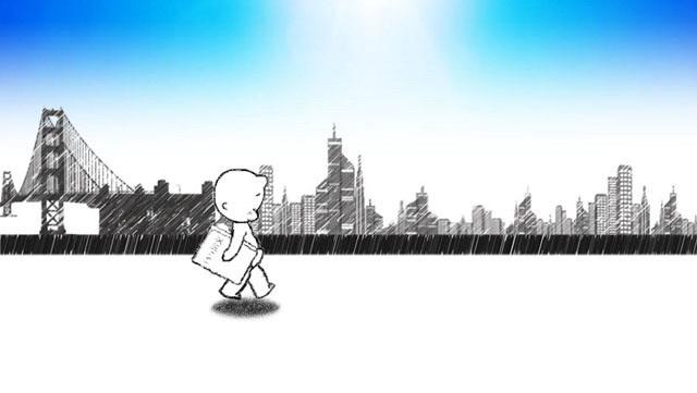 这是一份带背景音乐的小屁孩PPT动画,整个动画以诙谐幽默的形式,搭配休闲的背景影月,一个小屁孩在手画家铅笔的描绘下出现,游走在城市间。本PPT动画由1张连续播放的幻灯片构成,喜欢做动画的朋友可以下载学习。动画为.PPTX格式,瑞普PPT出品;