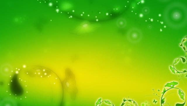 梦幻藤蔓ppt背景图片,关键词:绿色ppt背景,藤蔓,植物幻灯片背景图片