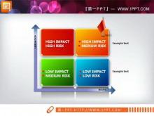企�ISWOT分析�D表系列PPT模板