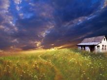 一组精美的自然风景PPT背景图片