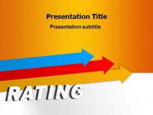 评估报告商务PPT模板免费下载