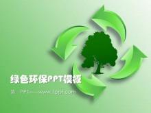 低碳环保PowerPoint模板免费下载