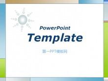 经典方框边框的PowerPoint模板