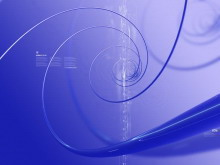 3d螺旋线PowerPoint背景图片下载