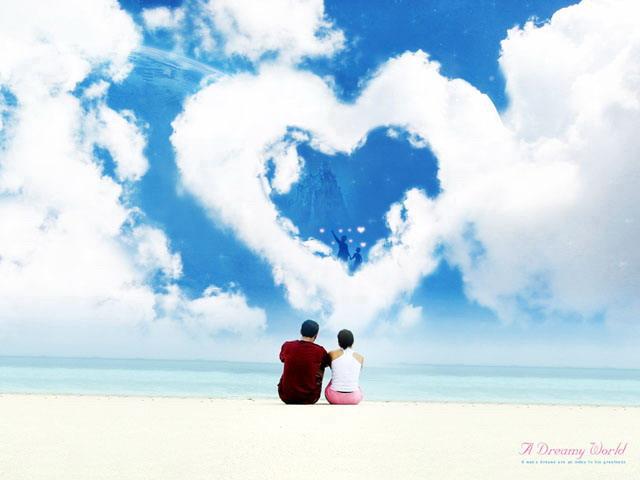 简介:这是一份关于爱情的PPT背景图片,一对情侣坐在海边的天空下,天空中的白云编织成一幅心形图案,非常浪漫。本PowerPoint背景图片适合用于制作情人节PPT,爱情相关的幻灯片等; 关键词:蓝色幻灯片背景,蓝天,白云,云彩,天空,情侣,伴侣,爱心 PowerPoint背景图片下载,16:9 , 4:3 ,.