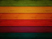 彩色木板PPT背景图片