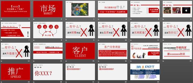 企业定位提案与广告推广ppt下载图片