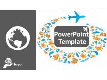 旅游商务PPT模板下载