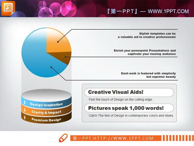 关键词:ppt饼状图,幻灯片图表素材下载,.