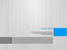 灰色win8风格商务PPT模板免费下载