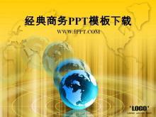 黄色背景的经典商务PowerPoint中国嘻哈tt娱乐平台tt娱乐官网平台