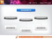 实用的组织结构图PPT素材下载