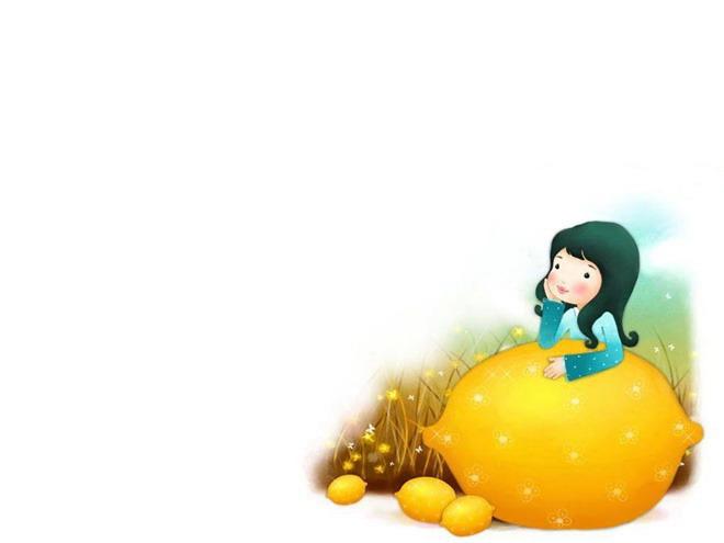 十张可爱卡通幻灯片背景图片打包下载