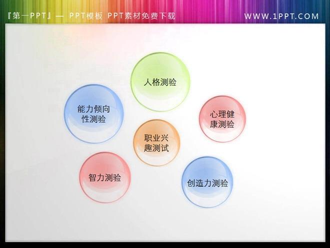 一组透明气泡幻灯片按钮素材下载 - 第一ppt图片