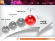红色3d立体水晶风格幻灯片图表中国嘻哈tt娱乐平台打包tt娱乐官网平台