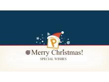 Merry Christmas!圣诞快乐PPT模板下载