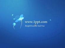 蓝色简洁简约有情调的艺术设计明升下载
